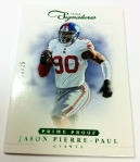 Panini America 2012 Prime Signatures Football QC 3