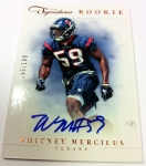 Panini America 2012 Prime Signatures Football QC 30