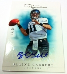 Panini America 2012 Prime Signatures Football QC 31