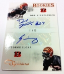 Panini America 2012 Prime Signatures Football QC 34