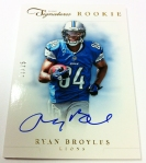 Panini America 2012 Prime Signatures Football QC 35