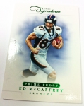 Panini America 2012 Prime Signatures Football QC 38
