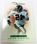 Panini America 2012 Prime Signatures Football QC 39