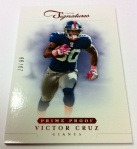 Panini America 2012 Prime Signatures Football QC 4