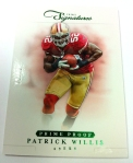 Panini America 2012 Prime Signatures Football QC 41