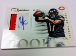 Panini America 2012 Prime Signatures Football QC 47