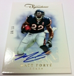 Panini America 2012 Prime Signatures Football QC 48