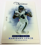 Panini America 2012 Prime Signatures Football QC 5