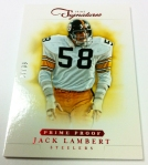 Panini America 2012 Prime Signatures Football QC 7