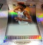 Panini America 2012 Prizm Basketball Auto Form 16