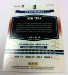 Panini America 2012 Signature Series QC 47