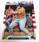 Panini America 2012 USA Baseball National Teams QC 12