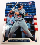 Panini America 2012 USA Baseball National Teams QC 13