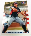 Panini America 2012 USA Baseball National Teams QC 18