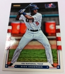 Panini America 2012 USA Baseball National Teams QC 44