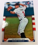 Panini America 2012 USA Baseball National Teams QC 48