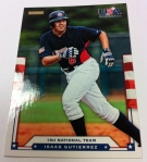 Panini America 2012 USA Baseball National Teams QC 52