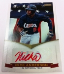 Panini America 2012 USA Baseball National Teams QC 70