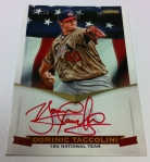 Panini America 2012 USA Baseball National Teams QC 84