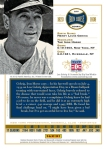 Panini America Cooperstown Gehrig Back