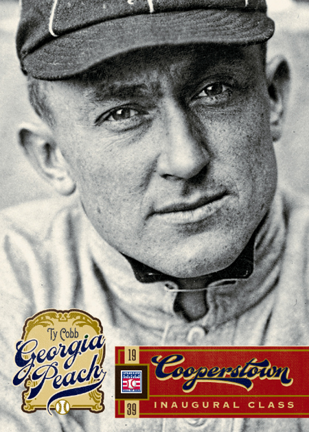 Panini America Cooperstown Ty Cobb Front