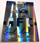 Panini America Luck Griffin Black Sunday 8