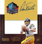 2012 National Treasures Football Fouts Pull Out