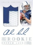 2012 National Treasures Football Luck