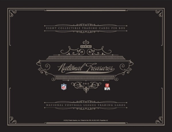 2012 National Treasures Football Main
