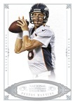 2012 National Treasures Football Manning Base
