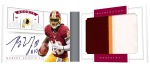 2012 National Treasures Football RG III Booklet Open