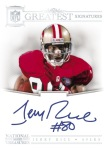 2012 National Treasures Football Rice