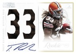 2012 National Treasures Football Richardson