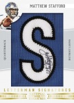 2012 National Treasures Football Stafford