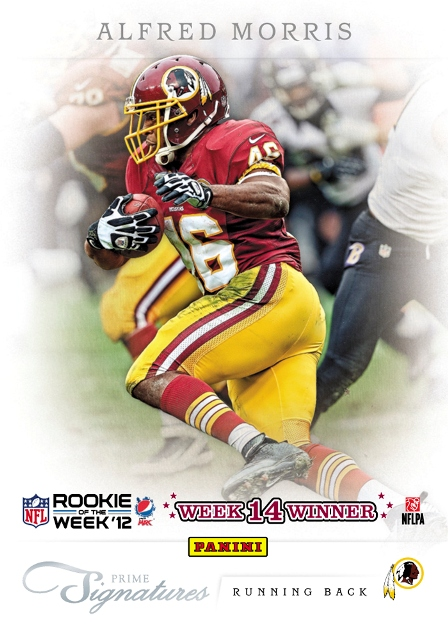 2012 Pepsi Max NFL ROW Week 14 Winner
