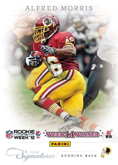 2012 Pepsi Max NFL ROW Week 14 Winner
