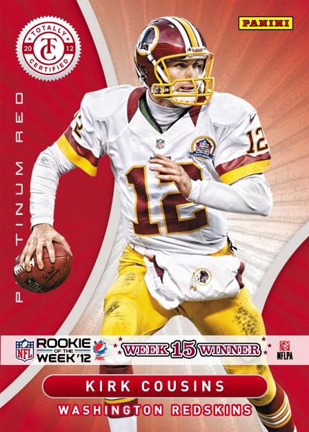 2012 Pepsi Max NFL ROW Week 15 Winner
