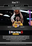 Panini America 2012-13 NBA Starting 5 PA Set 1a