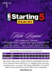 Panini America 2012-13 NBA Starting 5 Set 1a
