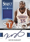 Panini America 2012-13 Select Basketball Durant