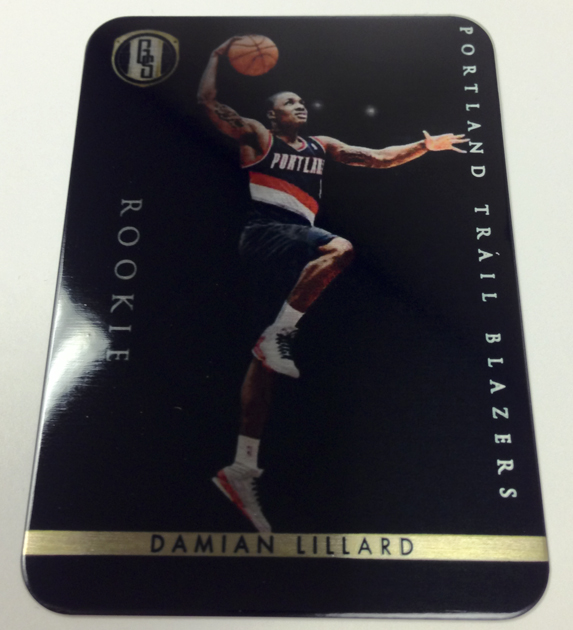 Panini America 2012 Gold Standard DC Redemptions 6