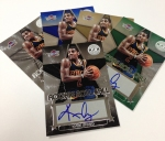 Panini America New Kyrie Signing 6