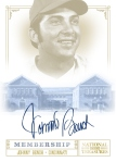 2012 National Treasures Baseball Bench