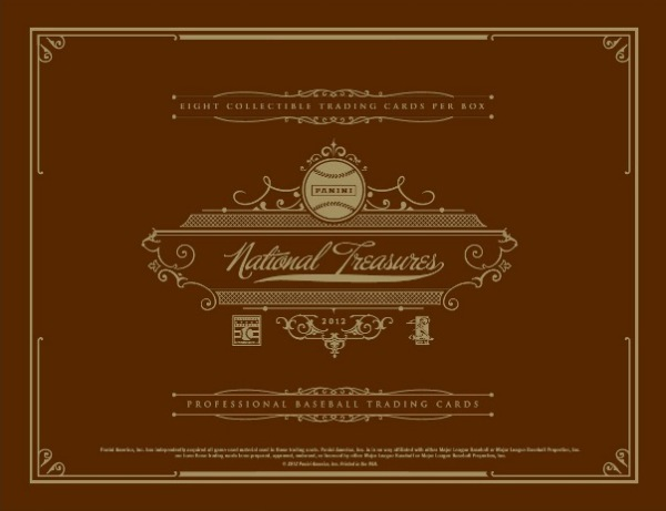 2012 National Treasures Baseball Main