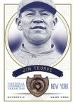 2012 National Treasures Baseball Thorpe