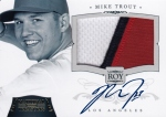 2012 National Treasures Baseball Trout