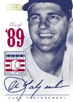 2012 National Treasures Baseball Yaz