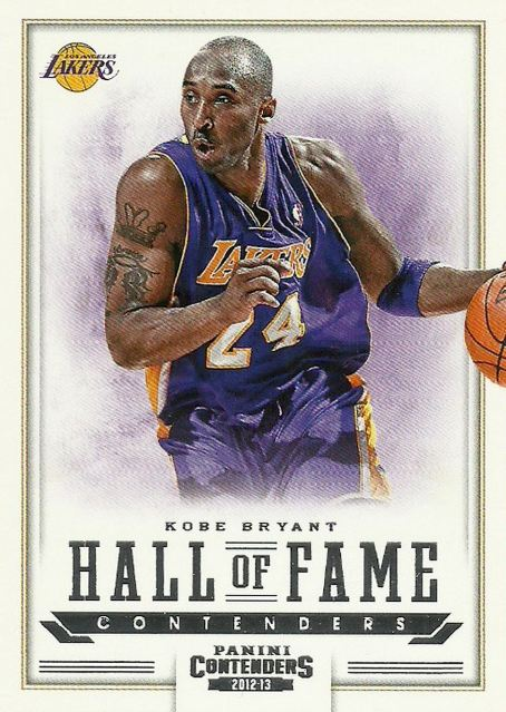 Kobe Hall of Fame Contenders