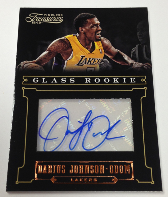 Panini America 2012-13 Timeless Treasures Basketball Teaser (29)
