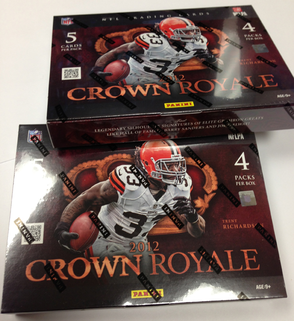 Panini America 2012 Crown Royale Two-Pack (1)